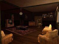 Interior de la casa de Ryder