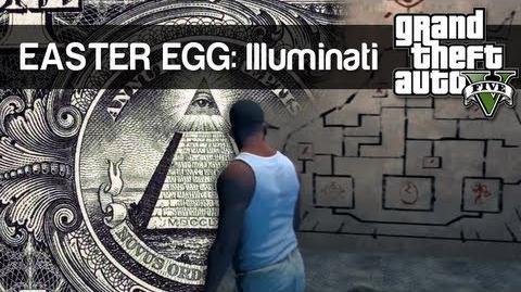 "Easter Egg 2 - ""Illuminati"" - GTA V"