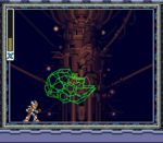Virus Sigma vs. Mega Man X, Base de los X-Hunters.