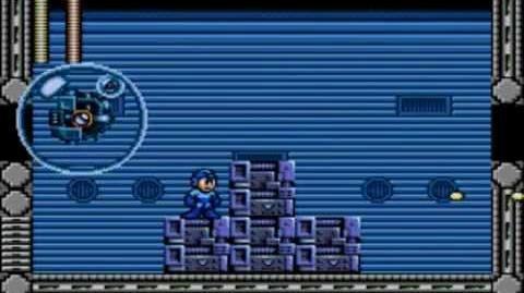 Mega Man The Wily Wars (Mega Man) - Fortress Stage 3