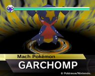 Garchomp en Rumble