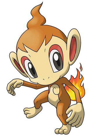 Archivo:Chimchar en Pokémon Ranger 2.png
