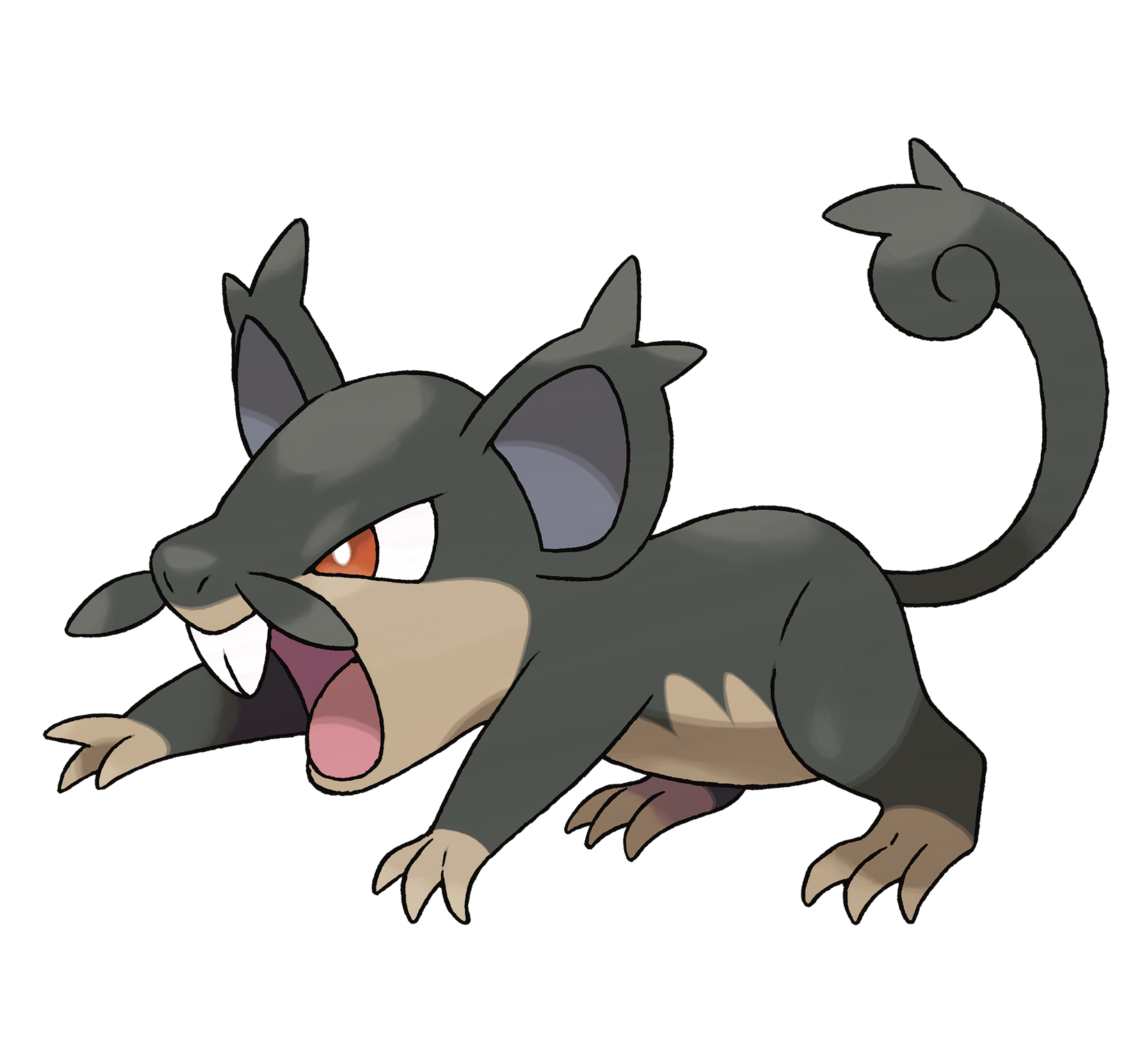 Ilustración de Rattata de Alola