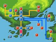 Sendero de Chicole mapa.png