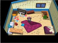 Pokémon NB habitación desordenada