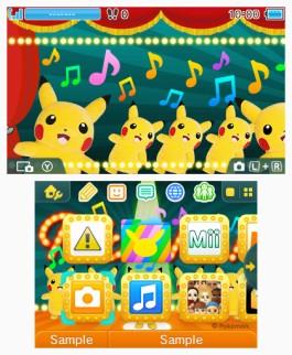 Tema 3DS Pokémon Pikachu bailarín.png