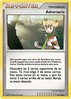 Carta Adversario