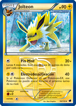 Carta de Jolteon