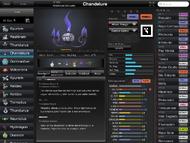 Pokédex for iOS (iPad) Chandelure
