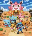 Pokémon frente al Pokégremio.png