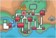 Ciudad Iris mapa