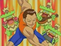 Archivo:EP476 Ludicolo acompañando a Giovanni en su entrenamiento.png