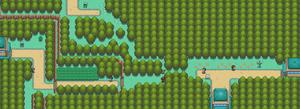 Mapa de la ruta 36