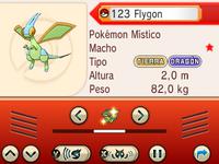 Entrada Pokémon capturado ROZA