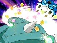 EP407 Glalie siendo golpeado por un puño meteoro