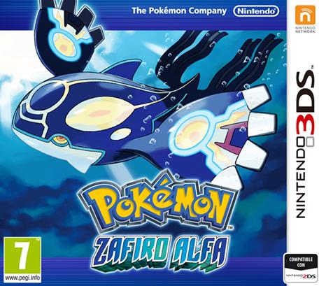 Archivo:Carátula Pokémon Zafiro Alfa.png