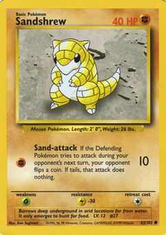 Carta de Sandshrew