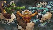 EP721 El trio de las nubes en una pintura rupestres.jpg