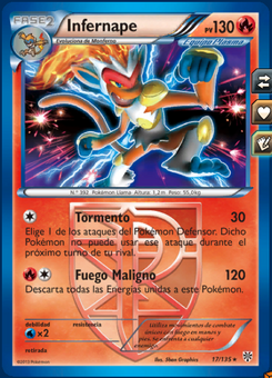 Carta de Infernape