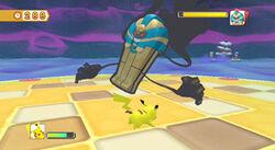 PokéPark 2 combate contra Cofagrigus.jpg