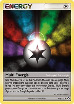 Carta Multi Energía