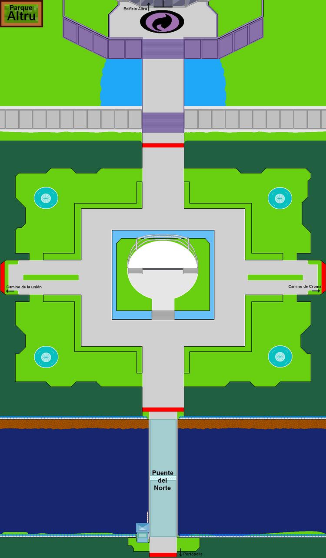 Plano del Parque Altru.