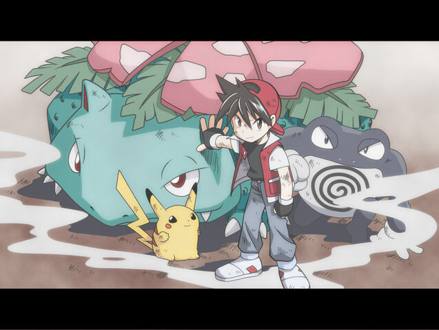 Archivo:Red junto a sus Pokémon.jpg