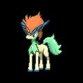 Imagen de Keldeo forma activa en Pokémon X y Pokémon Y