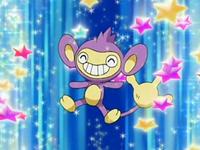 Archivo:EP480 Aipom saliendo de su Poké Ball.png