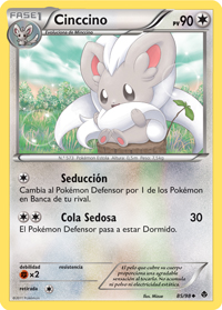 Carta de Cinccino