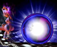 Mewtwo usando Bola Sombra