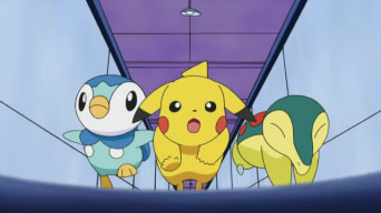 Archivo:EP613 Pikachu, Piplup y Cyndaquil corriendo.png