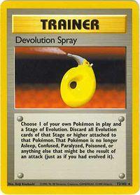 Carta Spray de Devolución
