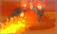 Munchlax siendo atacado en XY