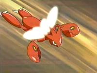 EP272 Scizor usando ala de acero