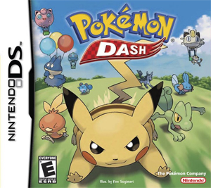 Archivo:Carátula de Pokémon Dash.jpg