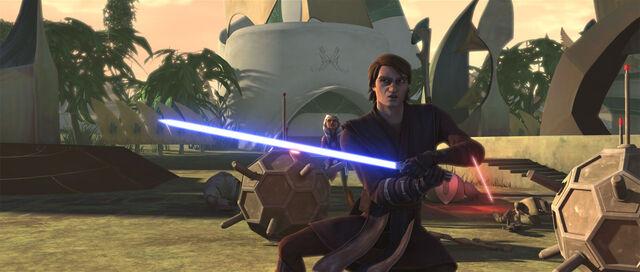 Archivo:AnakinAhsokaUnderFire-Kidnapped.jpg