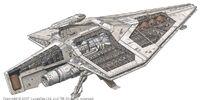 Nave de asalto clase Acclamator/Leyendas