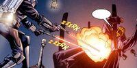 Escaramuza en el núcleo de energía de Coruscant