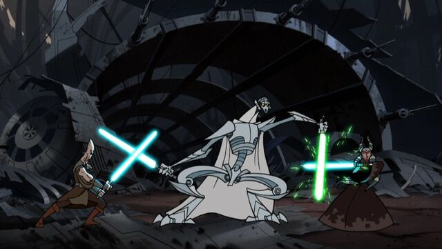 Archivo:Grievous-Attacks-Ki-Adi-Mundi-And-Shaak-Ti.jpg