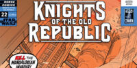 Star Wars: Knights of the Old Republic 22: Knights of Suffering, Part 1