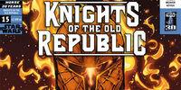 Star Wars: Caballeros de la Antigua República 15: Días de Miedo, Parte 3
