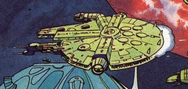 Archivo:Millennium Falcon Lightning Gun.JPG