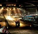 Hangares de la Torre del Templo Jedi
