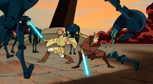 Skywalker Kenobi Unknown Planet