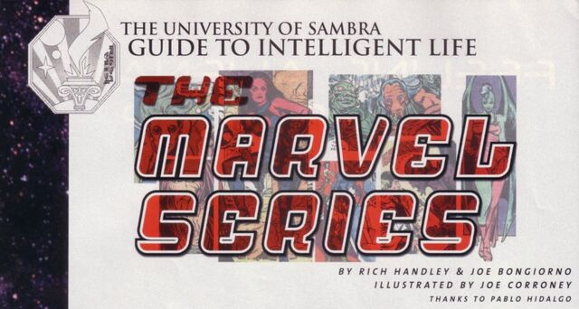 Archivo:Guide to Intelligent Life - Marvel G1.jpg