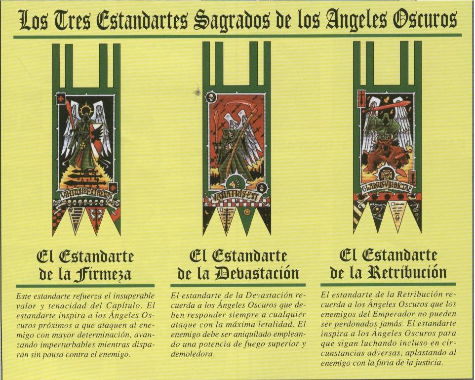 estandartes sagrados de los 193ngeles oscuros wikihammer