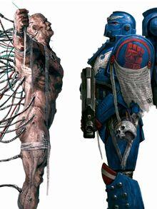 Marine Espacial implantes anatomía caparazón negro warhammer 40k wikihammer.jpg