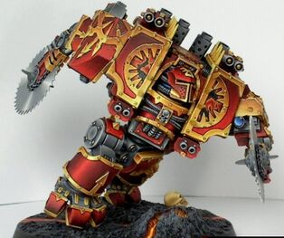 Cuchilla infernal, dreadnought de Khorne