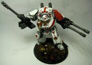 Dreadnought contemptor cicatrices blancas herejía warhammer 40k wikihammer